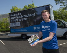 Digital Scotland Superfast Broadband celebrates fibre broadband across Clackmannanshire