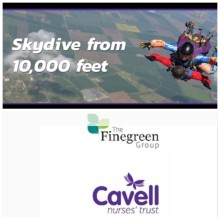 Finegreen's Skydive for Cavell Nurses' Trust this October - Donate today!
