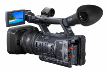 First ever high-end Handycam with dual memory card slots for continuous shooting