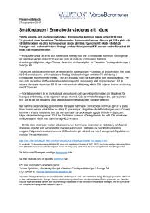 Värdebarometern 2017 Emmabodas kommun