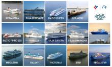 Nach 4 Monaten das erste Mal – alle Tallink Grupp Schiffe sind am selben Tag auf der Ostsee unterwegs