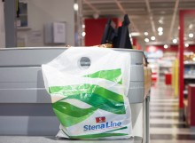 Stena Line introduces biodegradable bags on board