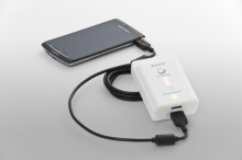 Keep your smartphone's battery powered with new USB portable power supply from Sony