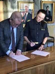 Samverkansöverenskommelse mellan Västerås stad och Lokalpolisområde Västerås