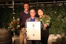 Här prisas vinnaren av Utstickarpriset 2018