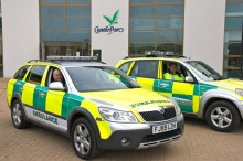 Paramedics at home at Center Parcs
