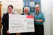Santander spendet 3 000 Euro an den Förderverein für den Hospiz- und Palliativberatungsdienst Südwestpfalz e.V.