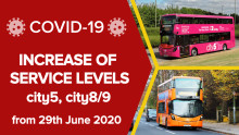 Further increase of service levels