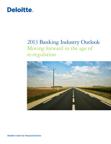 Banking Industry Outlook 2013