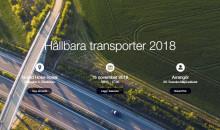 Elfordon, flygskatt, biodrivmedel och mycket mer - klimatet i fokus på årets Hållbara transporter
