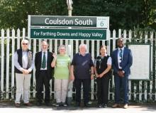 Fresh signage at Coulsdon South celebrates London's newest nature reserve