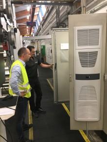 Signode Denmark ApS tilsikrer optimal driftstemperatur i el-tavler