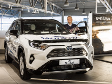 Folke-SUVen RAV4 er klar for lansering i Harstad