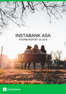 Instabank Interim Report Q3 2019