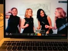 Tävlingskvartetter underhöll virtuellt när Nordiska mästerskapen ställdes in