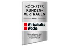 Deutschlands größtes Vertrauensranking: Wer genießt aus Kundensicht das höchste Vertrauen?