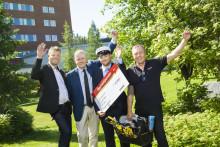 Elev vid Luleå gymnasieskola belönad med Bygmastipendiet