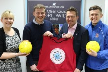 Fred. Olsen Cruise Lines extends sponsorship of Suffolk FA's 'Walking Football' initiative