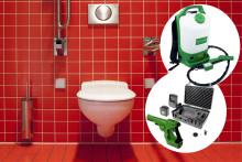 Sanera från kräksjuka till 100% på toaletter