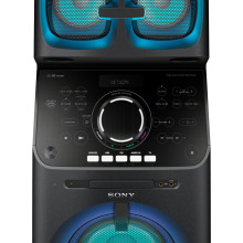 The tower of power!  Sony brings all new high-power audio system to the mix