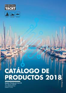 Lo último en electrónica marina en el nuevo catálago de Digital Yacht España