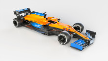 AkzoNobel puts the cool into McLaren's stylish new Formula 1 car, the MCL35