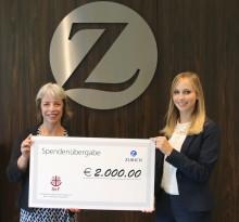 Regionales Engagement: Zurich Mitarbeiter setzen sich für gemeinnützige Organisationen ein