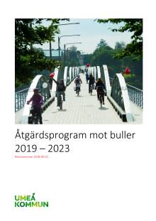 Åtgärdsprogram mot buller 2019 - 2023