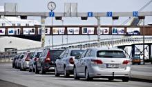 Flydende færgetrafik mellem Danmark og Tyskland