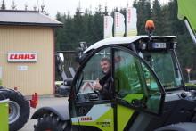 Første traktorregistrerte CLAAS SCORPION i Norge