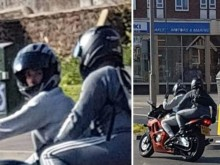 Youths sought in connection with stolen motorcycle in Brighton