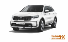 "Den nye KIA Sorento er udnævnt til ""All-Wheel Drive Car of the Year 2020"""