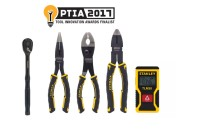 STANLEY Earns Three Pro Tool Innovation Awards for Laser Distance Measurer, Pliers and Ratchets
