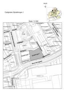 Karta Malmö Sjösättningen 1