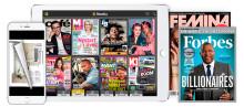 SJ och Readly erbjuder tågresenärer obegränsad tillgång till digitala magasin