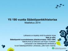 Säästöpankkiryhmän historia, päivitetty 03/2014