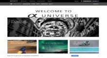 Zaživela je nova spletna stran »Sony α Universe Europe«