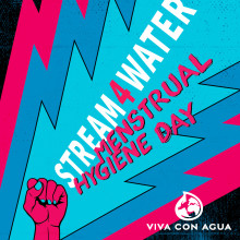 Livestream-Festival zum internationalen Tag der Menstruationshygiene am 28. Mai