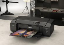 imagePROGRAF PRO-300 – en högkvalitativ och professionell A3+-fotoskrivare med kompakt design