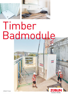 ZÜBLIN Timber: Badmodule