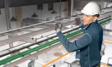 Nytt kabelføringssystem - fem ganger raskere installasjonstid
