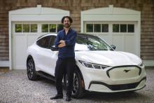 Ford Mustang Mach-E sine kjørelyder blir til sang