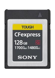 Sony opracowuje kartę pamięci CFexpress typu B  o bardzo dużych prędkościach odczytu (do 1700 MB/s[i] ) i zapisu (do 1480 MB/s[i])