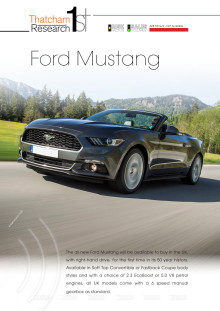 Thatcham 1st : Ford Mustang
