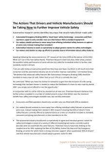 Key Steps to Improving Vehicle Safety