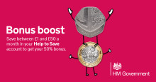 Savers can earn 50p for every £1 they save with Help to Save scheme