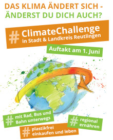 #Climate Challenge in Stadt und Landkreis Reutlingen