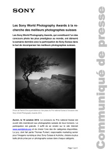 Communication de presse_SWPA National Awards Switzerland_F-CH_141008