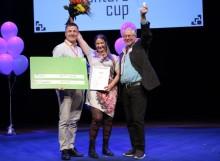 Björn Lagermans BeeScanning vann pris i Venture Cups Sverigefinal