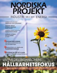 Nya numret av Nordiska Projekt nr 4 2019 ute nu!